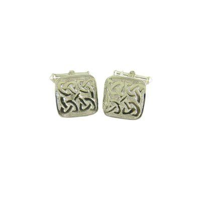 Gents Jewellery Sterling Silver Celtic Cufflinks