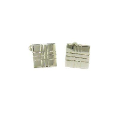 Gents Jewellery Sterling Silver Cufflinks
