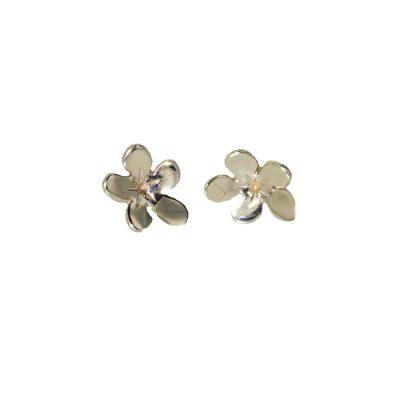 Burren Collection 9ct. Gold Saxfrage Burren Flower Earrings