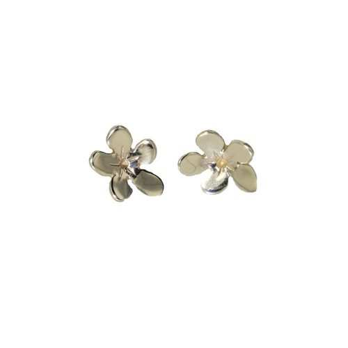 Burren Collection 9ct. Gold Saxfrage Burren Flower Earrings