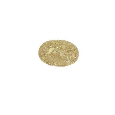 Gents Jewellery 9ct. Yellow Gold Diver Tie Tack