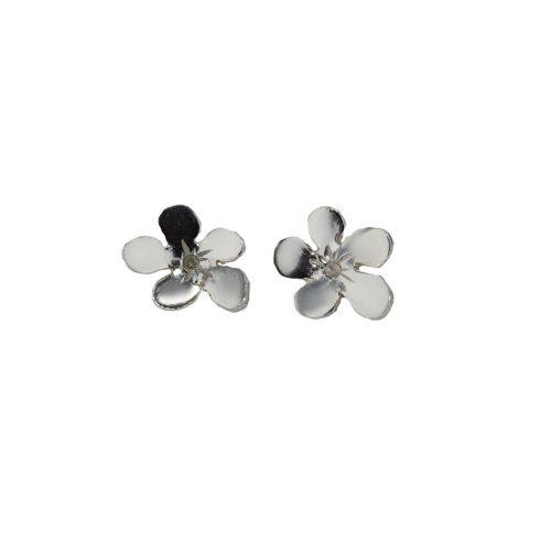 Burren Collection Sterling Silver Medium Burren Flower Earrings