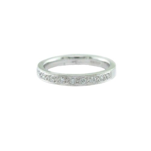 Eternity Rings 18ct. White Gold Eternity Ring with 11 Diamonds