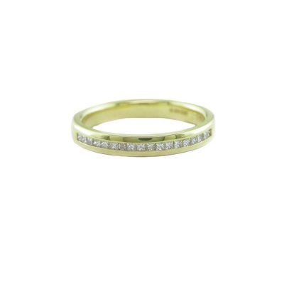 Eternity Rings 18ct. Yellow Gold Eternity Ring with 18 Diamonds