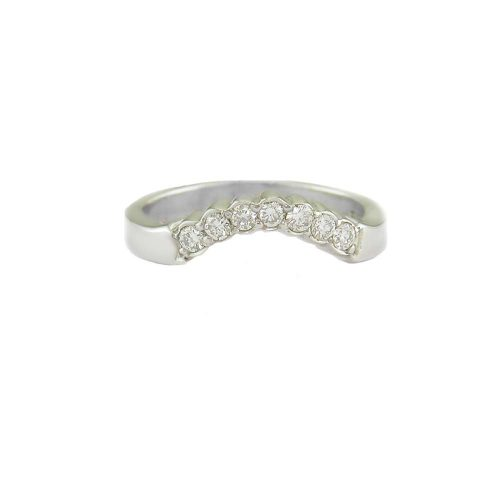 Diamond Rings 9ct. White Gold Fitted Eternity Ring