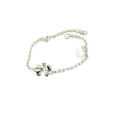 Burren Bracelets Sterling Silver Burren Flower Bracelet
