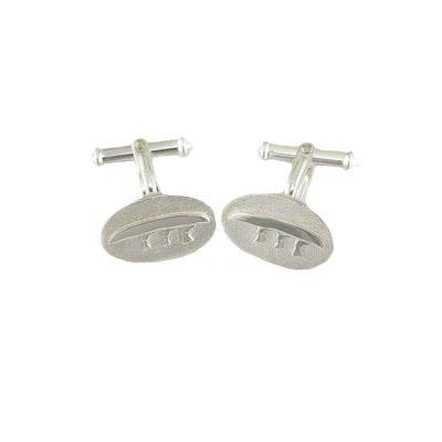 Gents Jewellery Sterling Silver Currach Cufflinks