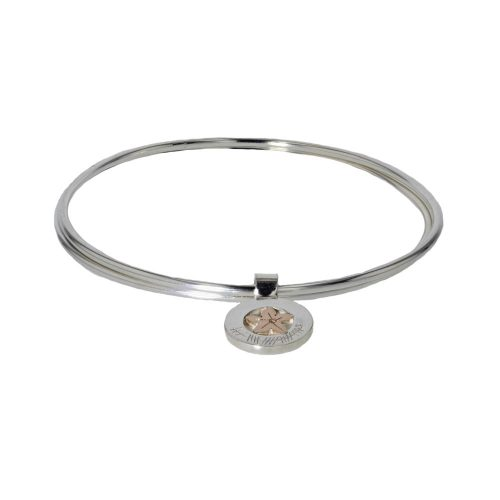Burren Bracelets Burren Flower Bangle