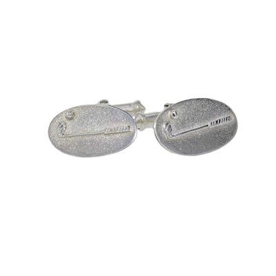 Gents Jewellery Golf Club Cufflinks in Sterling Silver