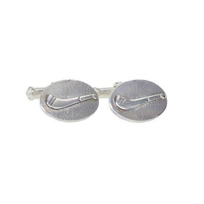 Gents Jewellery Hurley Cufflinks in Sterling Silver
