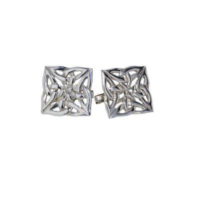 Gents Jewellery Celtic Cufflinks Sterling Silver