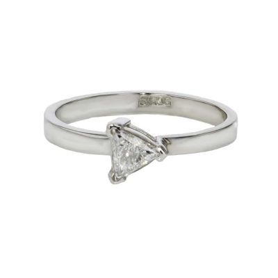 Diamond Rings Trillian Cut Diamond Ring