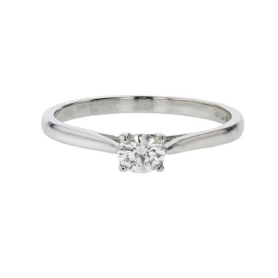 Diamond Rings Platinum Diamond Solitaire Ring