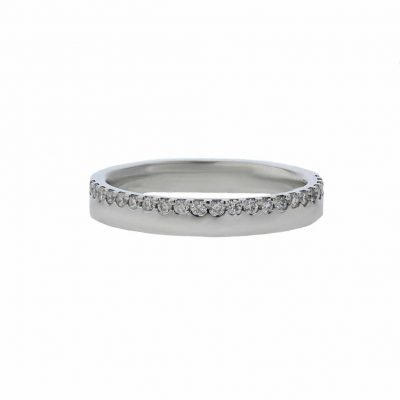 Rings Platinum Ring, 23 Pavé set Diamonds