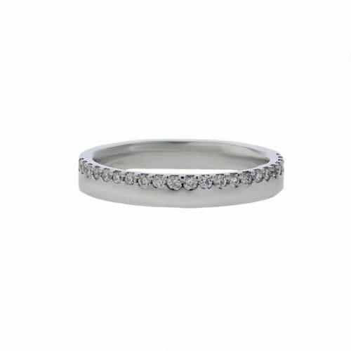 Rings Platinum Ring, 23 Pavé set Diamonds