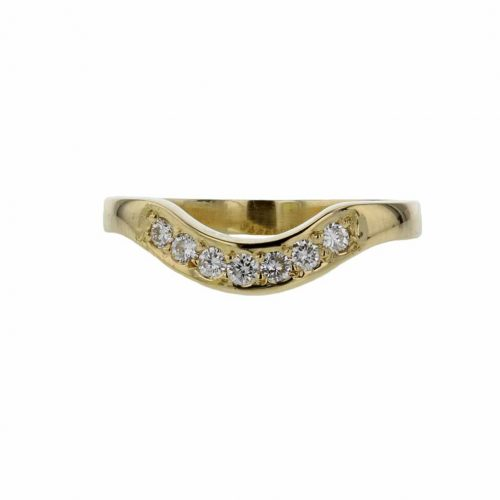 Rings Fitted 18ct. Yellow Gold Ring
