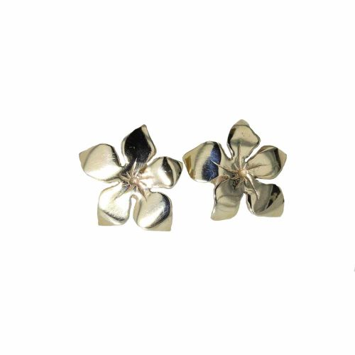 Burren Collection 9ct. Large Gold Burren Flower