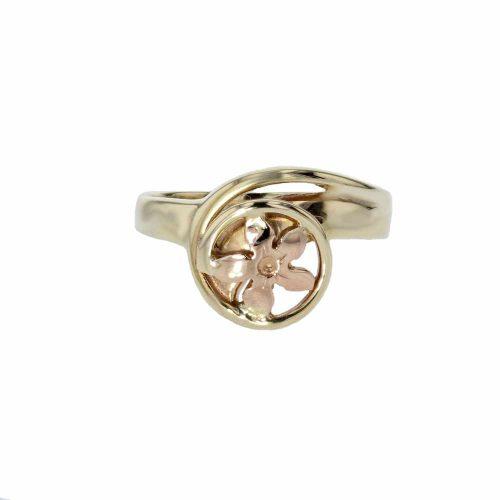 Burren Collection 9ct. Gold Burren Flower Ring