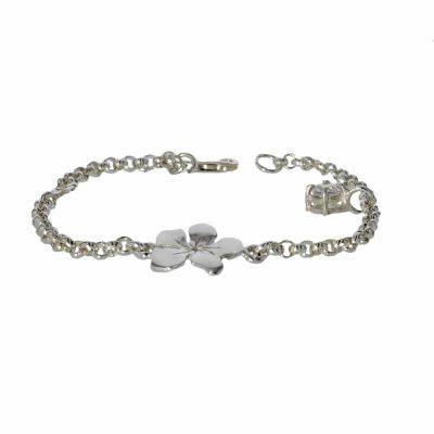 Sterling Silver Burren Charm Bracelet