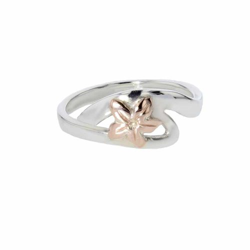 Burren Collection Sterling Silver Twist Ring