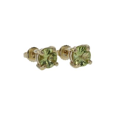 Earrings 9ct. Gold Peridot Earrings