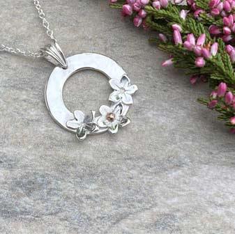 Burren Silver Pendants