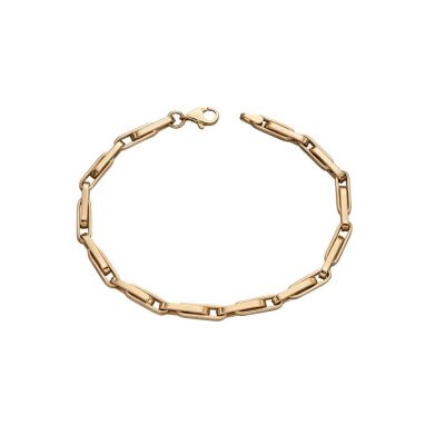Bracelets 9ct. Yellow Gold Link Bracelet