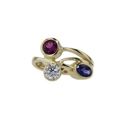 Dress Rings 9ct Yellow Gold Birthstone/Gemstone Ring