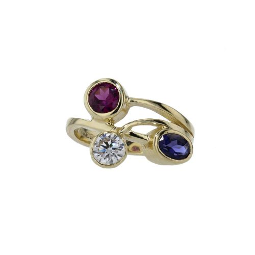 Dress Rings 9ct Yellow Gold Birthstone/Gemstone Ring