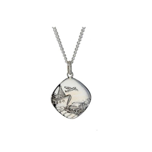 Gents Jewellery Sterling Silver St Christopher Medal