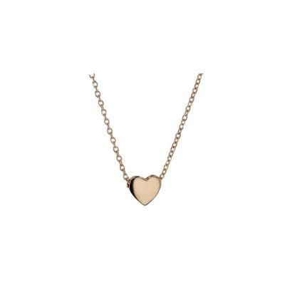 Gold Pendants 9ct Solid Rose Gold Floating Heart Pendant
