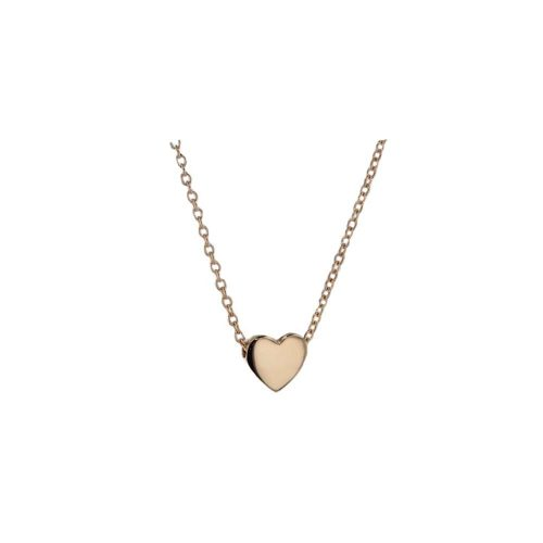 Jewellery 9ct Solid Rose Gold Floating Heart Pendant