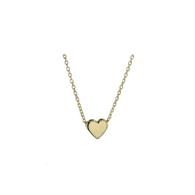 Gold Pendants 9ct Yellow Solid Gold Floating Heart Pendant